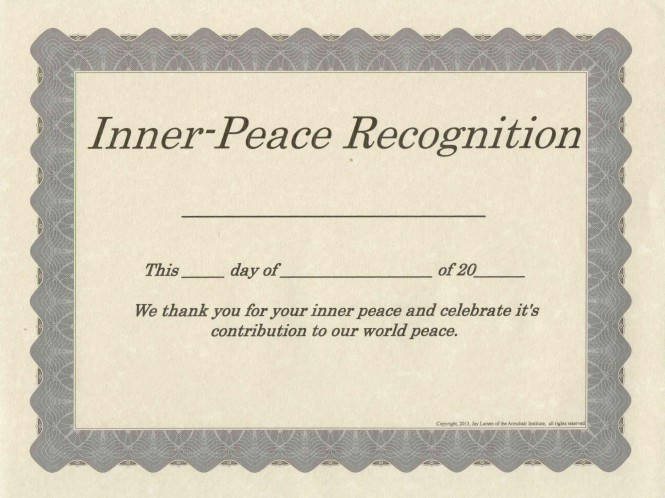 Inner-Peace Recognition